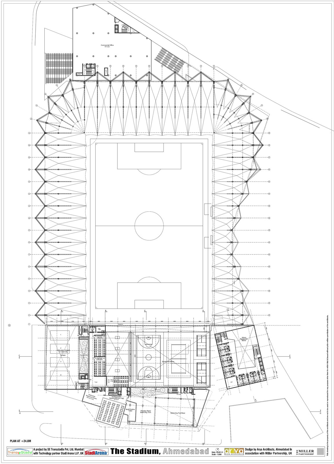 Photo Wembley Stadium Floor Plan Images 28